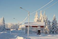 зима дня солнечная Стоковая Фотография RF