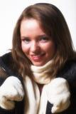 зима одежд модельная представляя Стоковое фото RF