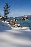 зима озера Стоковые Фото