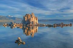 зима озера mono Стоковое Изображение RF