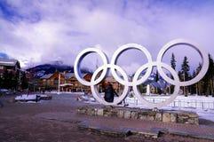 зима Олимпиад Стоковое фото RF