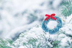 зима орнамента иллюстрации украшения рождества предпосылки Стоковое Изображение