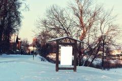 Зима освещает указатель Стоковые Изображения