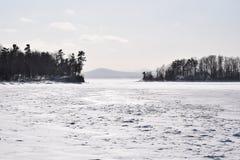 Зима островов Стоковые Фото