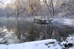 зима отражений стоковые фото