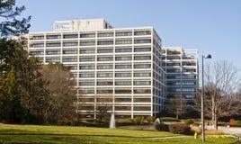 зима офиса здания terraced белая Стоковая Фотография RF