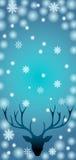Зима оленей Стоковое Изображение