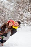 зима пар Стоковые Фото