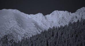 зима пейзажа горы Стоковые Изображения