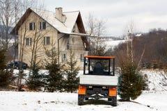 зима пейзажа горы Стоковая Фотография