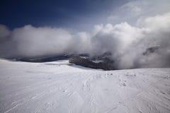 зима пейзажа гор Стоковое Фото