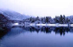 зима пейзажа Стоковая Фотография RF