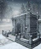 зима пейзажа 9 Стоковые Фотографии RF