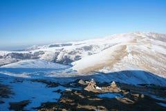 зима пейзажа wutaishan Стоковые Изображения