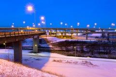 зима пересечения Стоковое фото RF