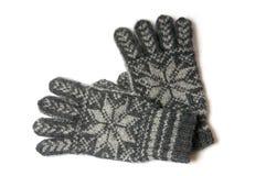 зима перчаток Стоковые Фотографии RF