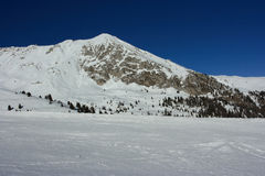 зима пика горы Стоковое фото RF