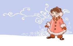 зима повелительницы Стоковое Фото