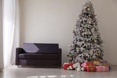 Зима подарков праздников рождества Нового Года внутренняя стоковое изображение rf