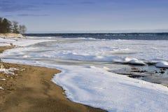 зима подхода s Стоковое Изображение RF