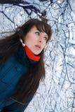 зима портрета Стоковая Фотография