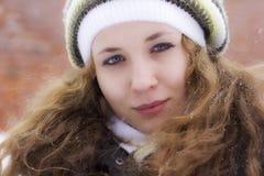 зима портрета Стоковое фото RF