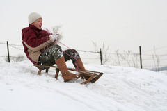 зима потехи Стоковые Изображения RF