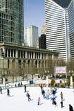 зима празднества танцульки chicago Стоковое Изображение