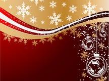зима праздника предпосылки Стоковые Фото