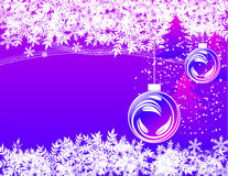зима праздника предпосылки Стоковое Фото