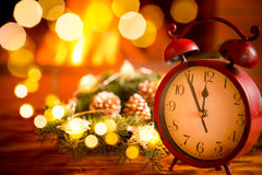 Зима праздника камина Xmas рождества Стоковая Фотография RF