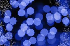 зима праздника предпосылки Стоковое Изображение