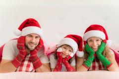 Зима праздника семьи Xmas рождества Стоковое Фото