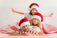 Зима праздника семьи Xmas рождества Стоковая Фотография RF