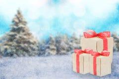 Зима праздника Стоковое Изображение
