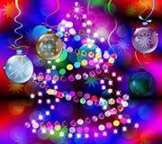 зима праздников предпосылки Стоковое Изображение RF