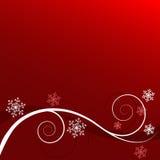 зима предпосылки флористическая Стоковая Фотография RF