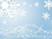 зима предпосылки иллюстрация вектора