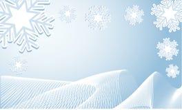 зима предпосылки Стоковое Изображение