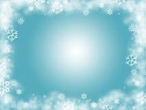 зима предпосылки Стоковое Изображение RF