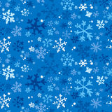 зима предпосылки безшовная Стоковые Изображения