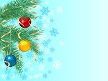зима предпосылки праздничная иллюстрация штока