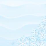 зима предпосылки снежная Стоковые Фото