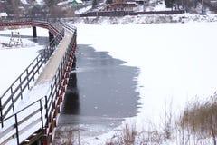 Зима приходит Стоковая Фотография