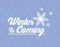 Зима приходит стоковое фото
