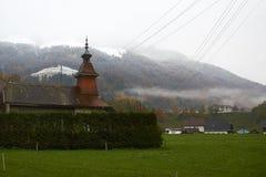 Зима приходит Стоковое фото RF