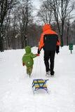 зима прогулки стоковая фотография