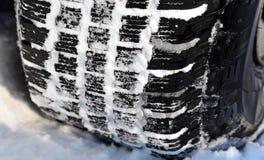 зима профиля шины автомобиля Стоковые Изображения RF