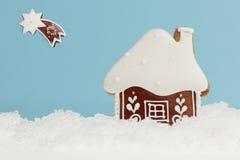 Зима пряника стоковая фотография rf