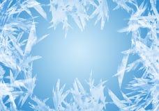 зима рамки Стоковые Изображения RF